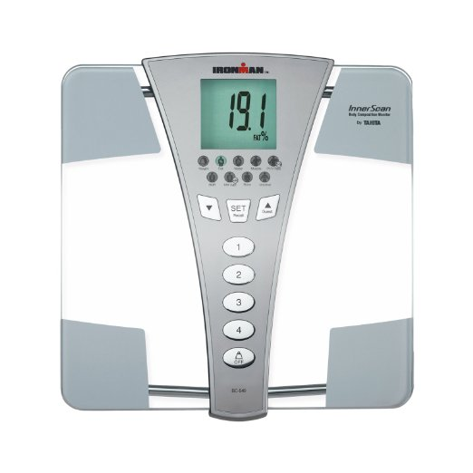Tanita BC554 Ironman Glass InnerScan Body Composition Monitor Review